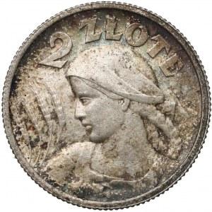 Kobieta i kłosy 2 złote 1924 Paryż