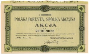 Polska Foresta, 100 zł 1925