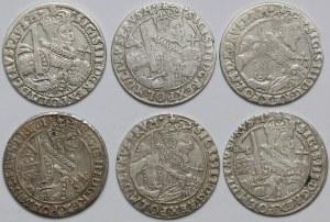 Zygmunt III Waza, Orty Bydgoszcz 1621-1623 (6szt)