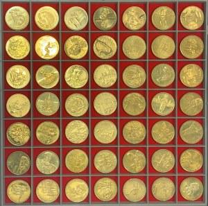 Zestaw wczesnych 2 złote GN od Zygmunt II August (49szt)