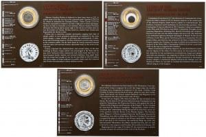 Gordian III, Probus i Konstancjusz II, zestaw (3szt)