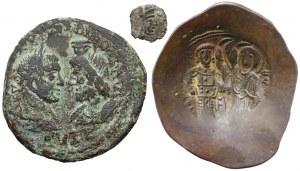 Aleksander Sewer i Bizancjum, zestaw (3szt)