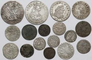 Niemcy + Polska, zestaw monet MIX (17szt)