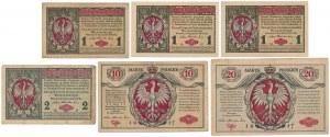 Jenerał / Generał 1-20 mkp 1916 (6szt)
