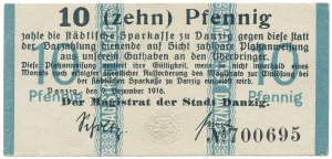 Gdańsk, 10 pfg 1916