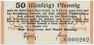 Gdańsk, 50 pfg 1916