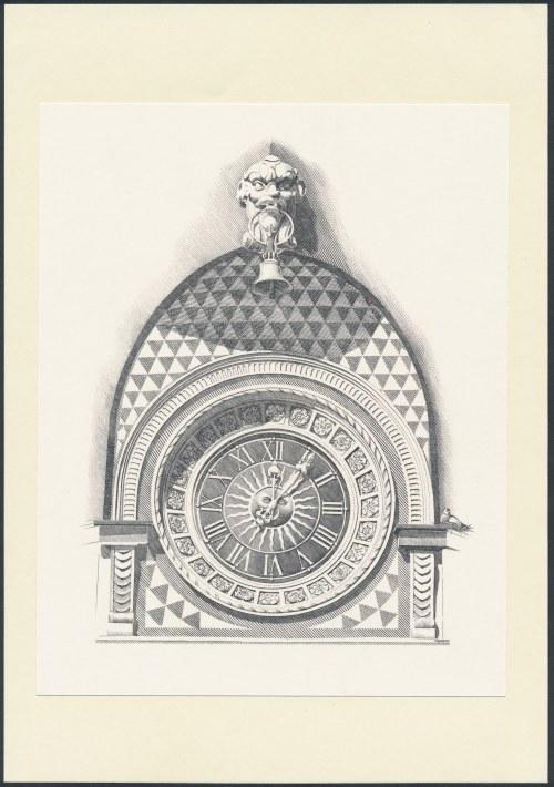 Staloryt PWPW - Zegar z Rynku Starego Miasta w Warszawie