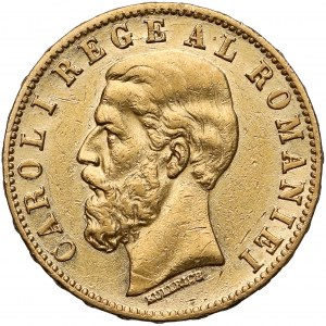 Rumunia, Karol I, 20 lei 1883