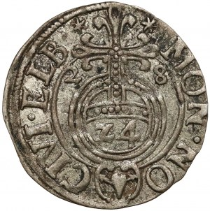 Gustaw II Adolf, Półtorak Elbląg 1628 - rzadki