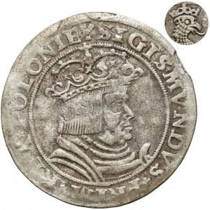 Zygmunt I Stary, Trojaki Kraków 1528 - Orzeł w prawo - rzadkość