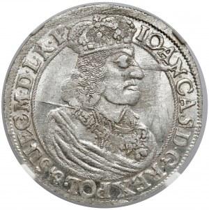 Jan II Kazimierz, Ort Gdańsk 1660 DL - piękny