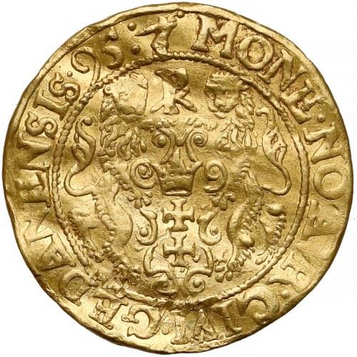 Zygmunt III Waza, Dukat Gdańsk 1595 - bardzo rzadki