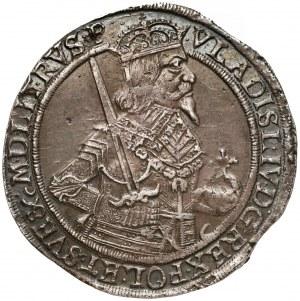 Władysław IV Waza, Talar Toruń 1637 II - B.ŁADNY