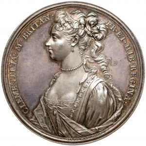 Medal Klementyna Sobieska ucieczka z Innsbrucku 1719 - PIĘKNY