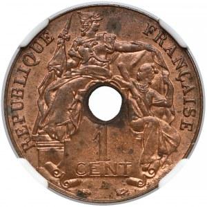Indochiny francuskie, 1 centime 1938-A