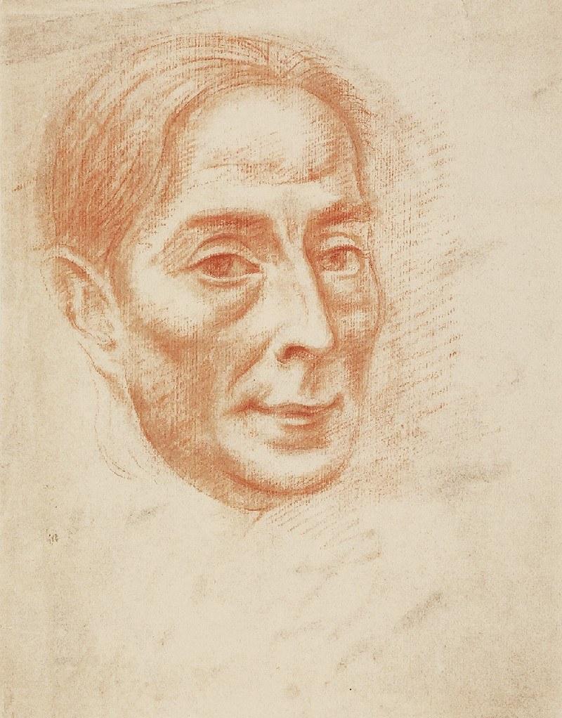 Roman KRAMSZTYK (1885-1942), Portret mężczyzny
