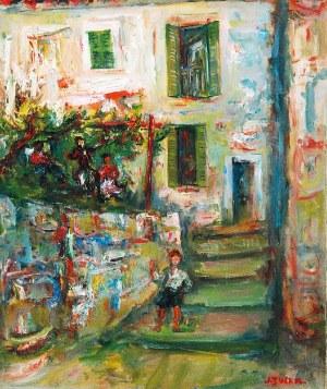 Jakub ZUCKER (1900-1981), Dom w Positano