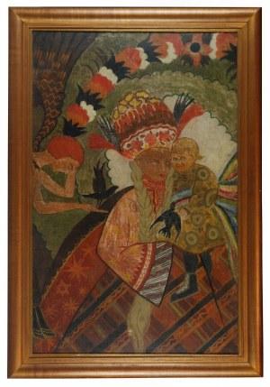 Zofia STRYJEŃSKA (1894-1976), Matka Boża z Dzieciątkiem, 1932