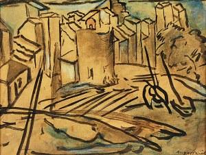 Leopold GOTTLIEB (1879-1934), Nadmorskie miasteczko