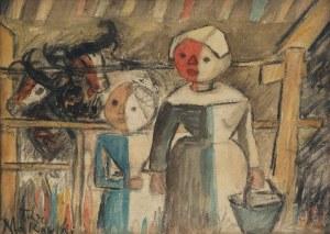 Tadeusz MAKOWSKI (1882-1932), Matka z dzieckiem