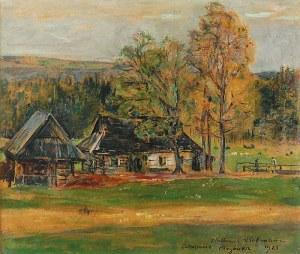 Wlastimil HOFMAN (1881-1970), Pejzaż z Bogówki