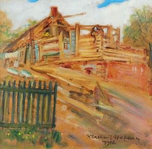Wlastimil HOFMAN (1881-1970), Budowanie domu, 1916