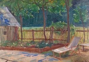 Wincent WODZINOWSKI (1866-1940), Ogród w słońcu