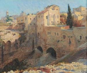 Nikolaj Aleksandrowicz JAROSZENKO (1846-1898), Motyw z Jerozolimy, 1896