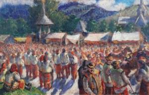 Fryderyk PAUTSCH (1877 - 1950), Jarmark huculski