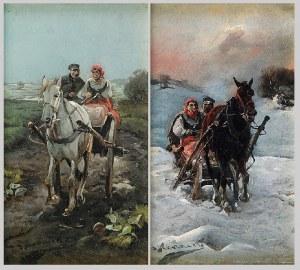 J. KONARSKI, XX w., Para obrazów