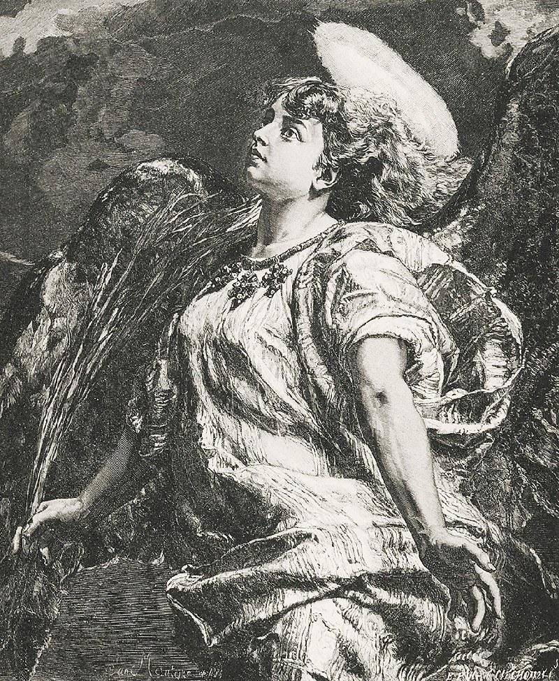 Jan MATEJKO (1838 - 1893), Pieśń, 1887