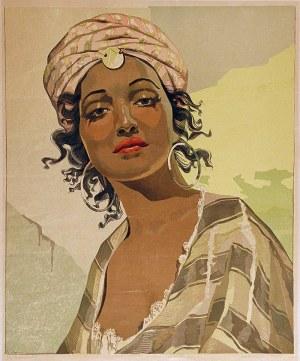 Aleksander LASZENKO (1883-1944), Córka Ben Brahima, 1938