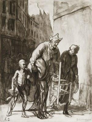 Honoré DAUMIER (1808-1879), Na ulicy