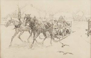 Stanisław BOHUSZ-SIESTRZEŃCEWICZ (1869-1927), Wyjazd do miasta