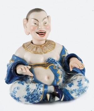 Manufaktura Porcelany w Miśni, Wackelpagode männlich (męska) - śmiejący się Chińczyk