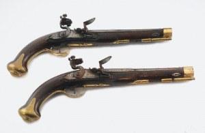 """Manufaktura """"Tulski Orużejny Zawod"""" (zał. 1712), Para pistoletów skałkowych"""
