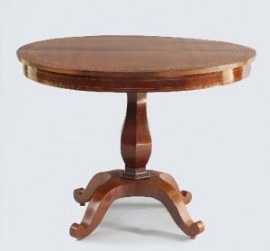 Stół pomocniczy w stylu późnego biedermeieru