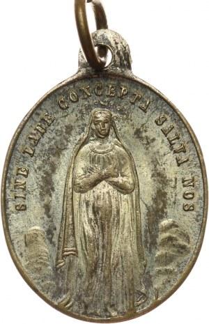 Lot: 2 medaliki religijne z kolekcji E. O. Horna