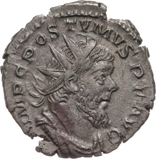 Cesarstwo Rzymskie, Postumus 260-269, antoninian 261, Trewir lub Lyon