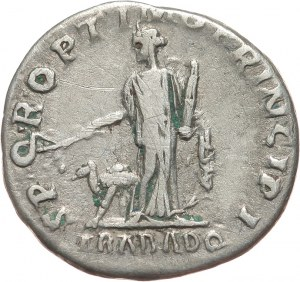 Cesarstwo Rzymskie, Trajan 98-117, denar 112-114, Rzym