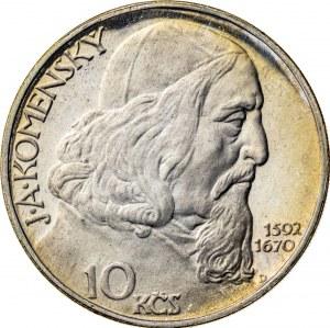 10 koron 1957, Czechosłowacja, PROOF