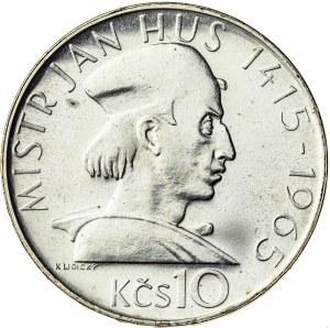10 koron 1965, Czechosłowacja, PROOF