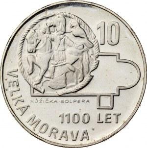 10 koron 1966, Czechosłowacja, PROOF