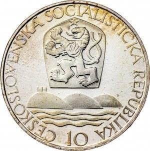 10 koron 1967, Czechosłowacja, PROOF