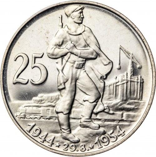 25 koron 1954, Czechosłowacja, PROOF