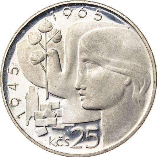 25 koron 1965, Czechosłowacja, PROOF