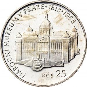 25 koron 1968, Czechosłowacja, PROOF