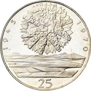 25 koron 1970, Czechosłowacja, PROOF