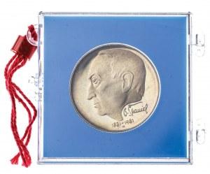 100 koron 1981, Czechosłowacja, PROOF