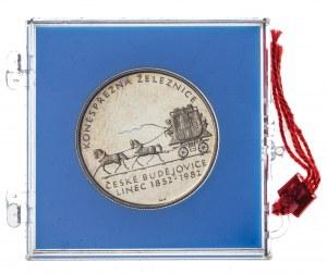 100 koron 1982, Czechosłowacja, PROOF